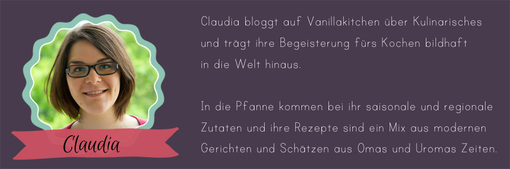 24 Days of Cookies - Gastautorin Claudia von Vanillakitchen