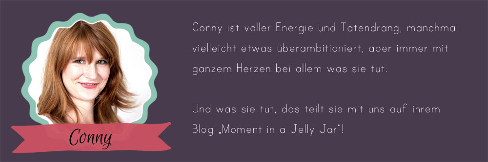 24 Days of Cookies - Gastautorin Conny von Moment in a Jelly Jar