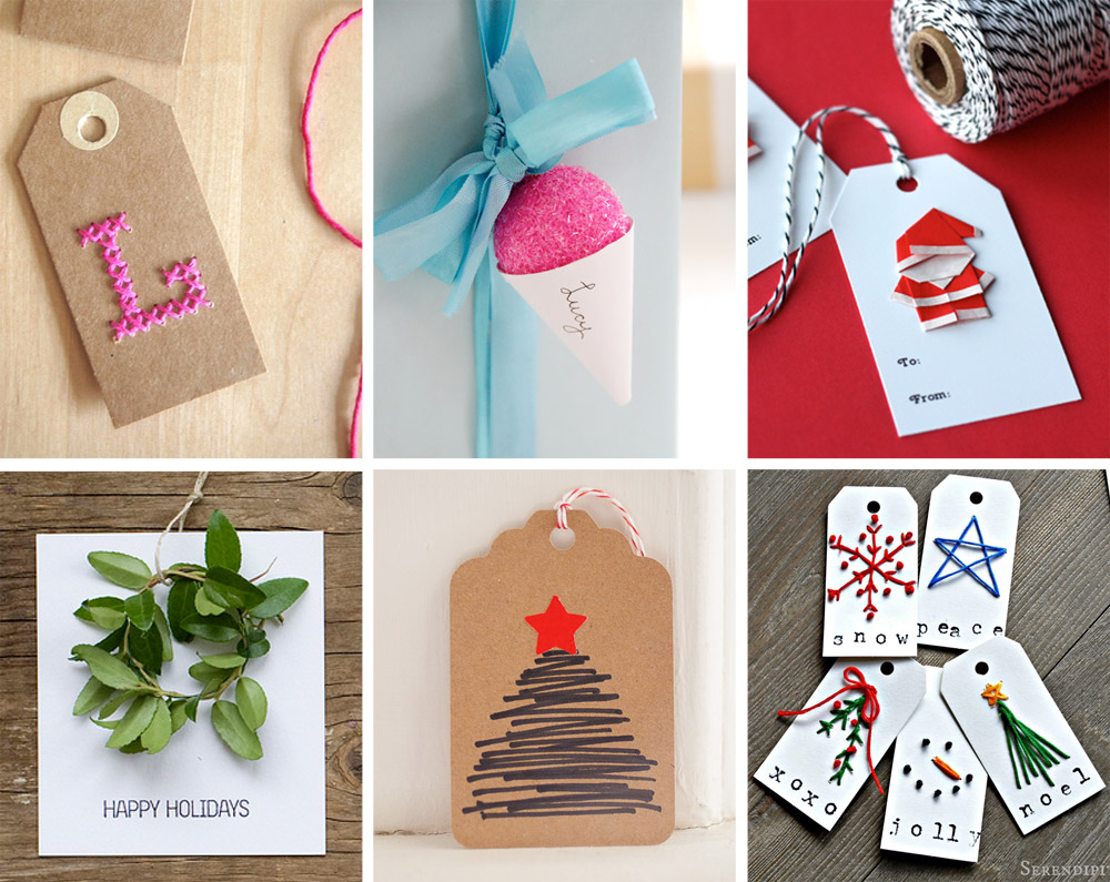 The ulitmate Gift Tag Roundup - DiY Edition