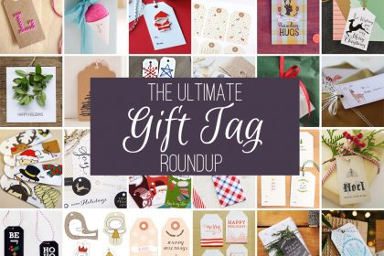 The ulitmate Gift Tag Roundup