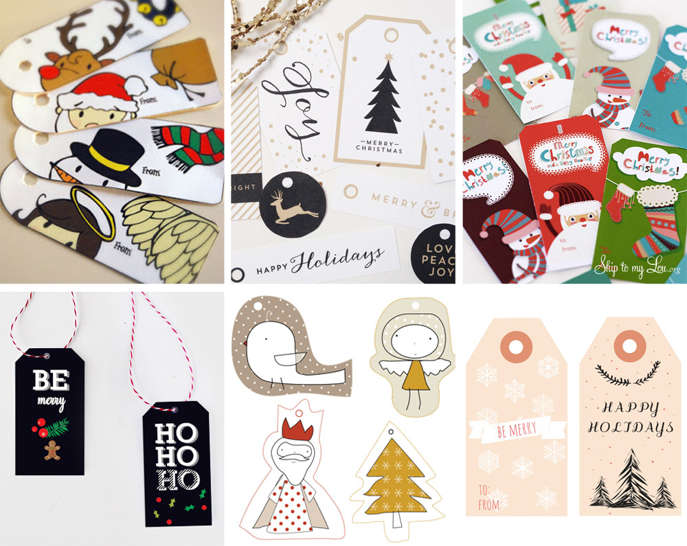 The ulitmate Gift Tag Roundup - Modern Edition