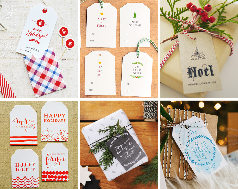 The ulitmate Gift Tag Roundup - Traditional Edition