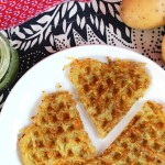 Hash Browns mit Kräutersoße / Heart Shaped Hash Browns | orangenmond.at