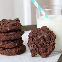 Schoko-Kichererbsen Cookies *** Chocolate Chickpea Cookies | orangenmond.at