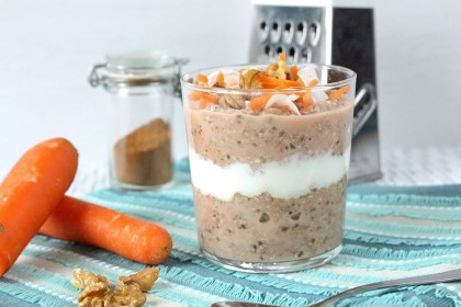 Carrot Cake Overnight Oats | orangenmond.at