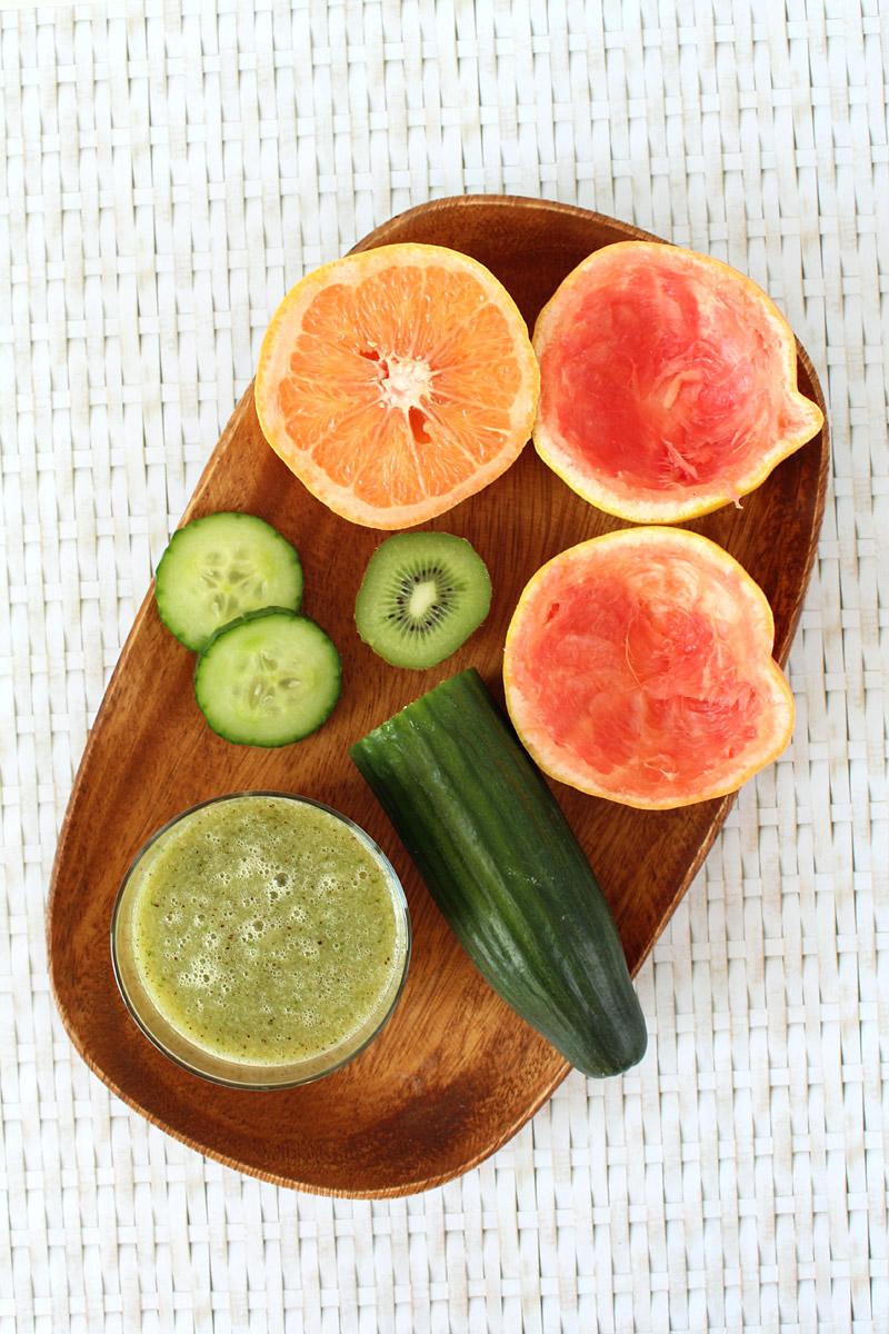 { Sunday Smoothie } Green Grapefruit   orangenmond.at
