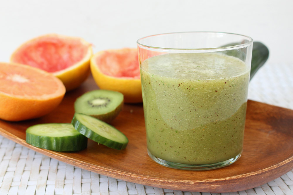 { Sunday Smoothie } Green Grapefruit | orangenmond.at