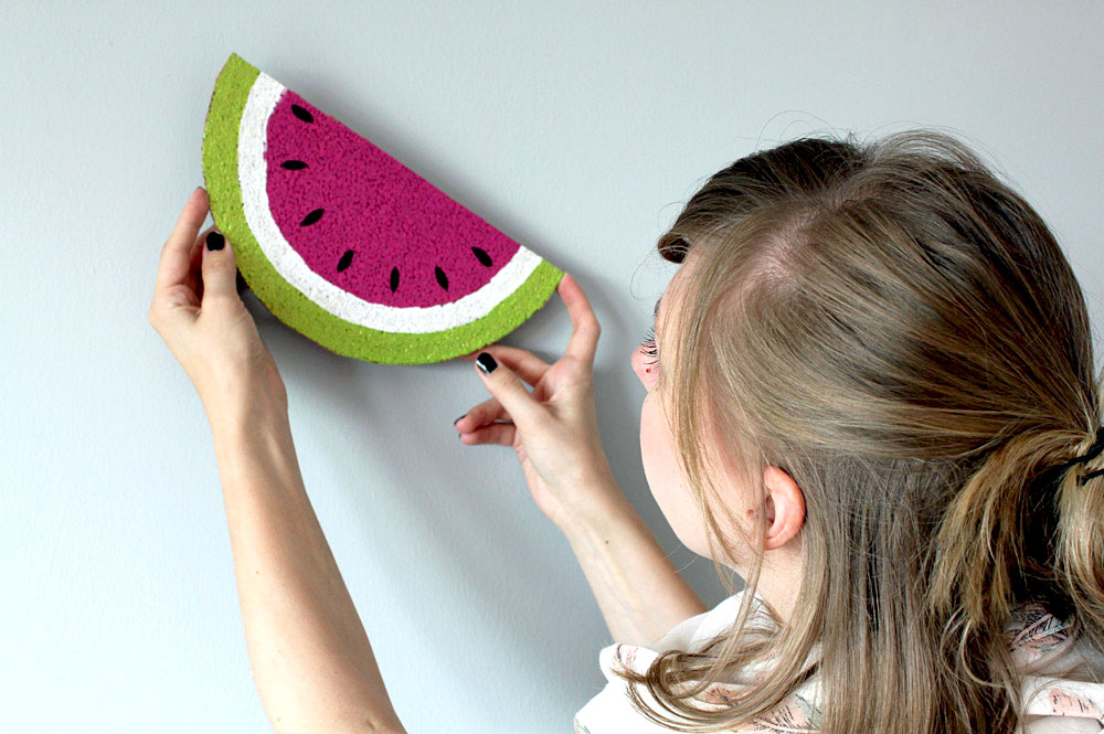 Wassermelonen Memo Board | orangenmond.at