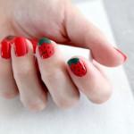 DiY: Erdbeernägel