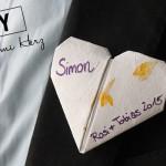DiY: Origami Herz Brosche