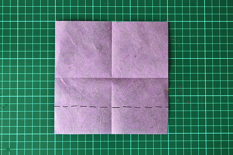 DiY Origami Herz How To | Orangenmond.at