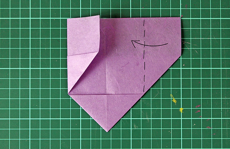 DiY Origami Herz How To | Orangenmond.at