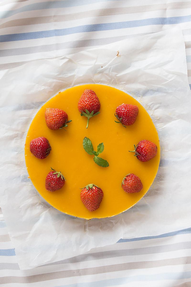 Mango Eiscreme Cheesecake   orangenmond.at