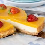 Mango Eiscreme Cheesecake