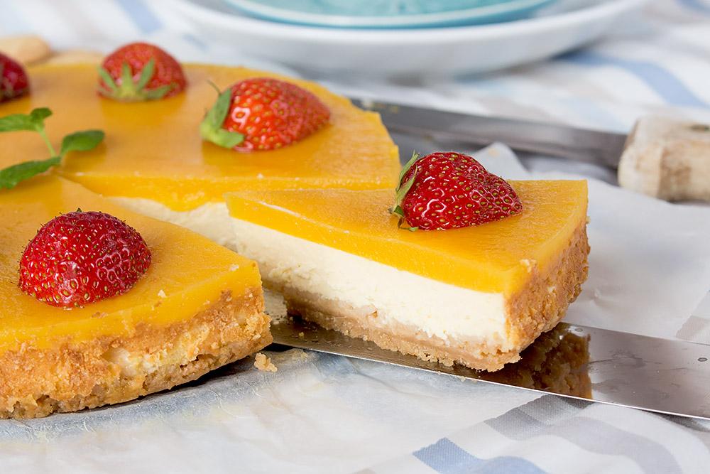 Mango Eiscreme Cheesecake | orangenmond.at