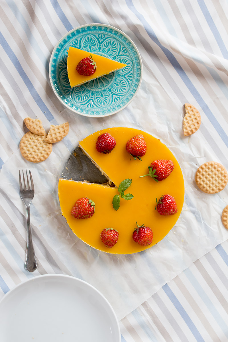 Mango Eiscreme Cheesecake | orangenmond.at