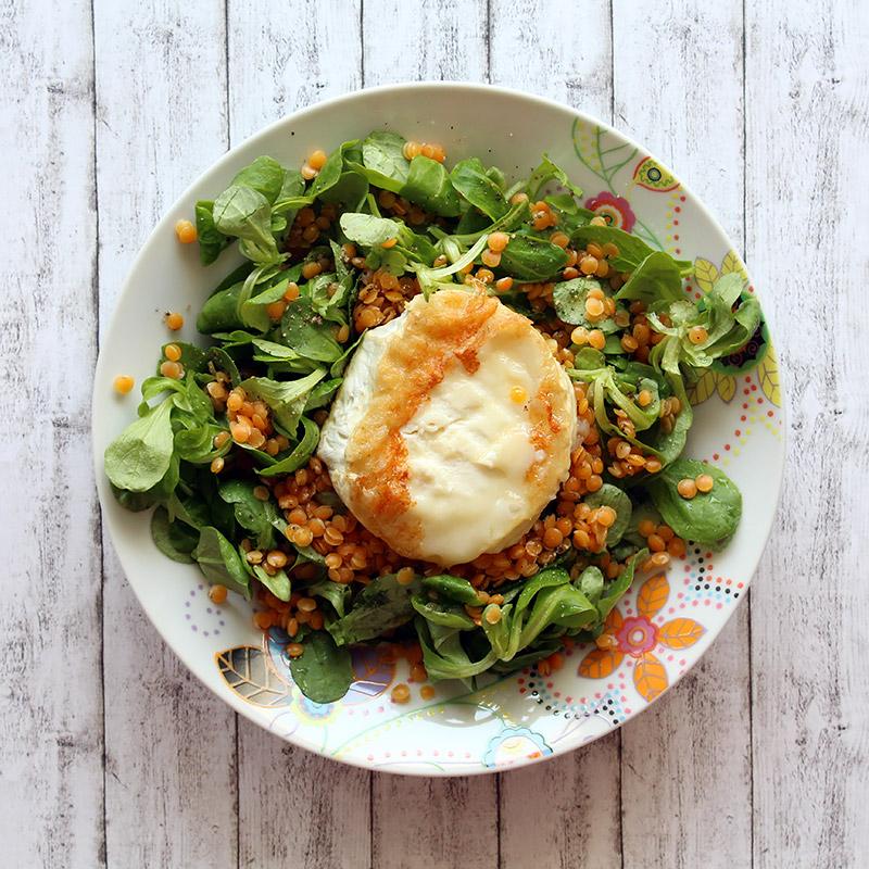 Sommersalat 3 Mal anders: Ziegenkäse Salat