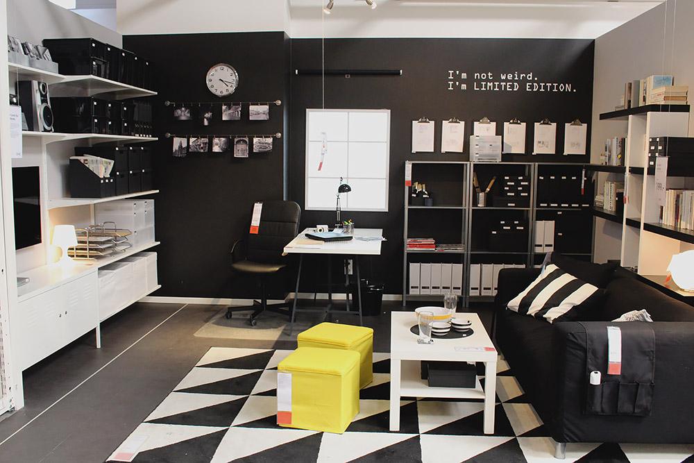 Ikea Einrichtungstrend Black White