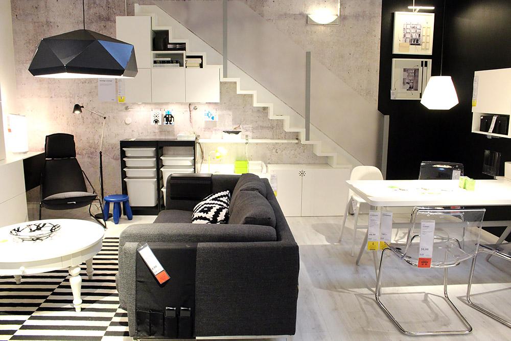 Ikea Einrichtungstrend: Black & White - Katalog 2015