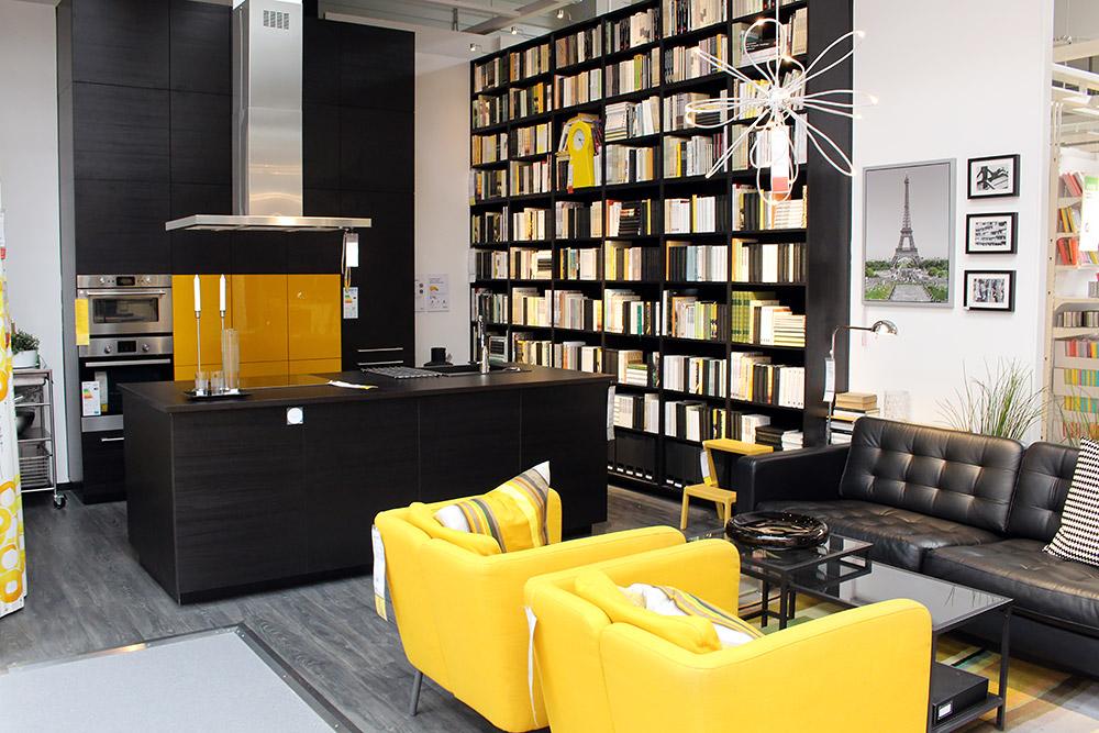 Ikea Einrichtungstrend Knallige Farbtupfer