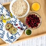 Cranberry Matcha Frühstückskekse