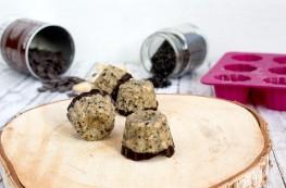 Sesam-Cashew Pralinen ohne Zucker
