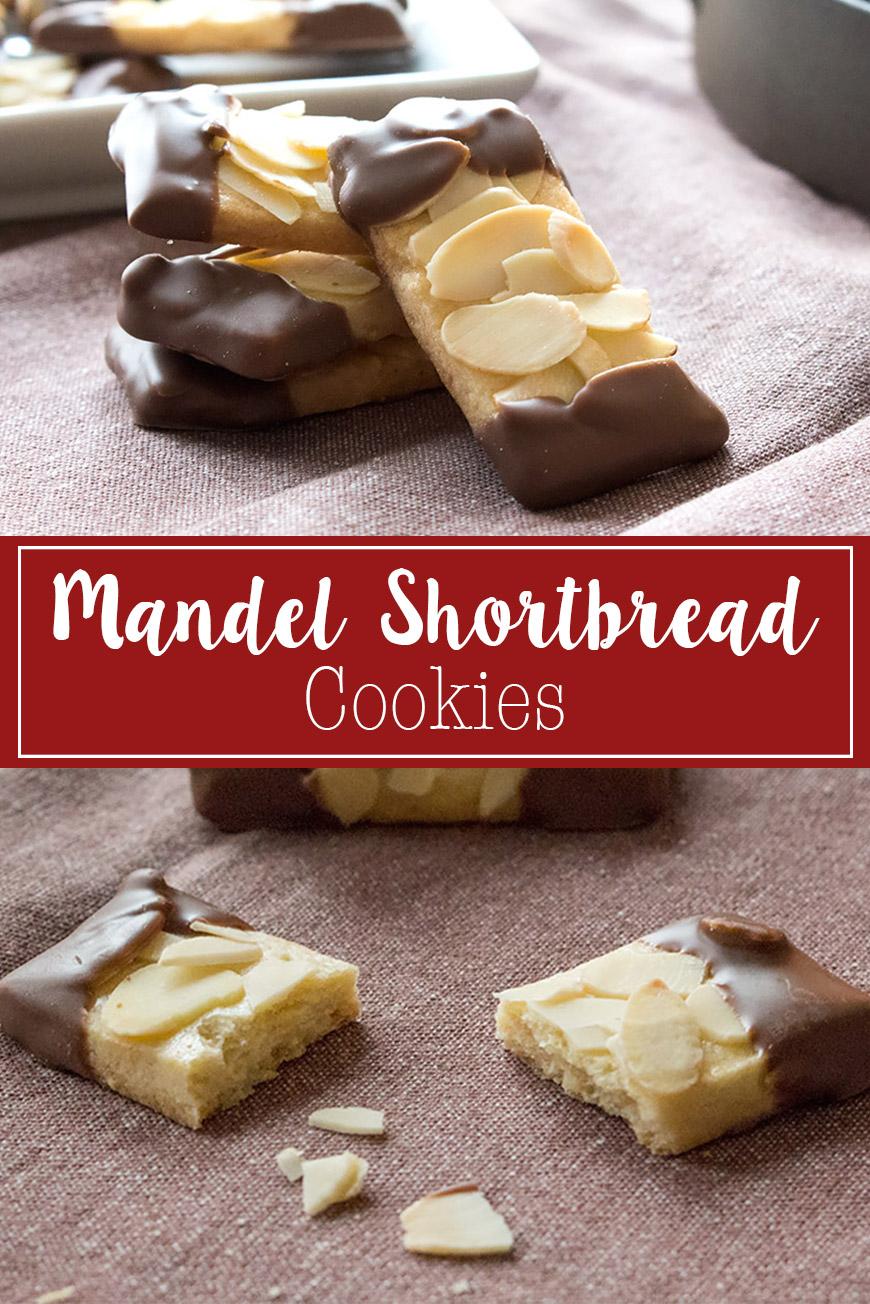 Mandel Shortbread Cookies Rezept