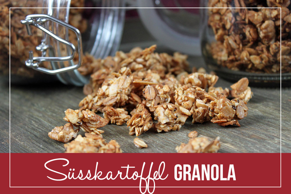Süßkartoffelgranola / Sweet Potato Granola | orangenmond.at