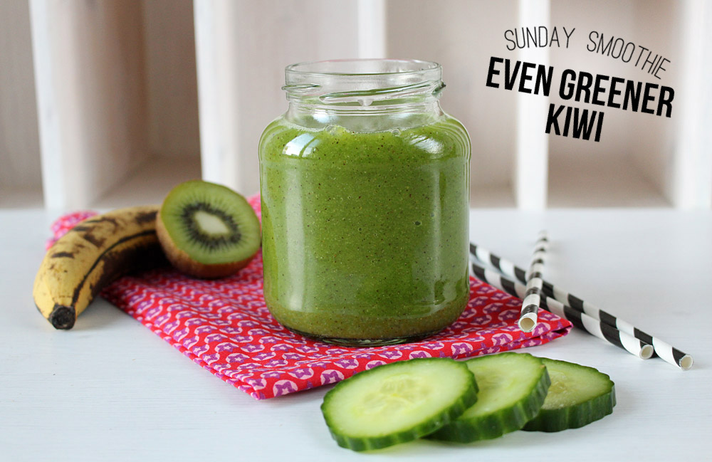 Sunday Smoothie: Even Greener Kiwi | orangenmond.at