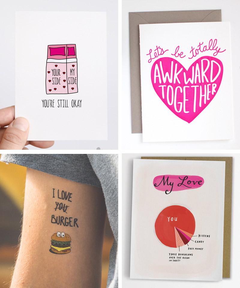 Share a littel love - 12 Karten für den Valentinstag