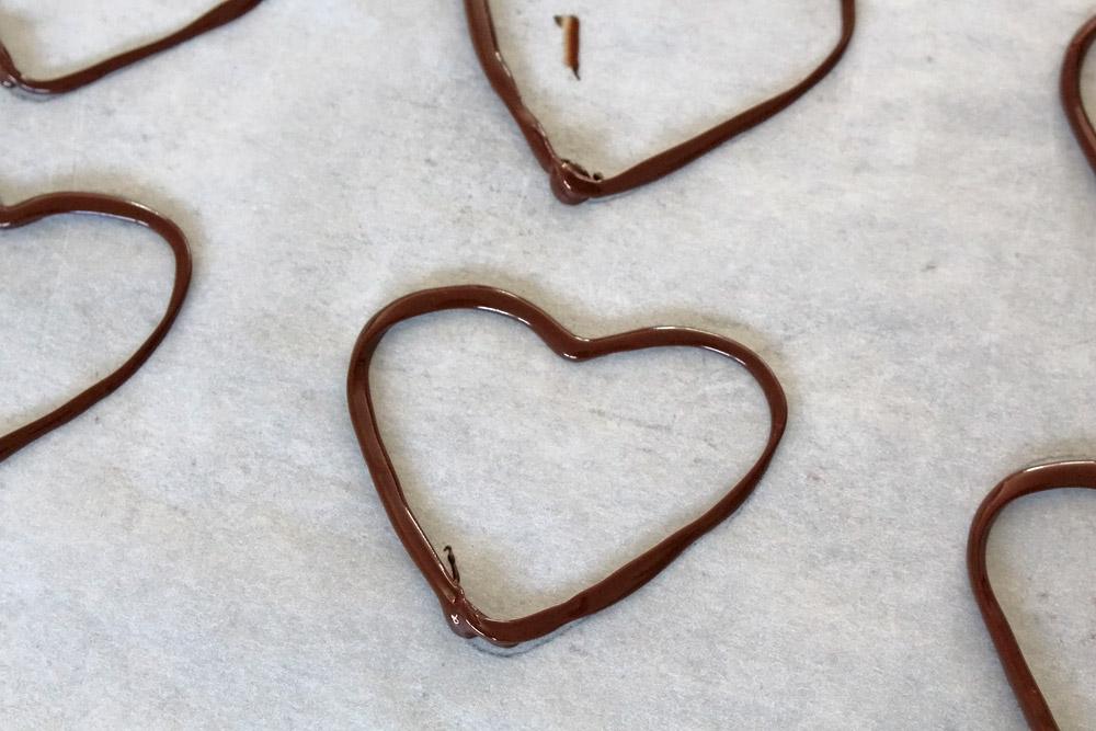 DiY Schokoherzen für den Valentinstag | orangenmond.at