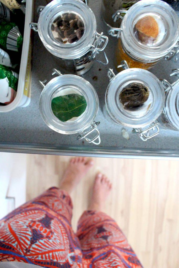 Küchen-DiY für mehr Ordnung im Gewürzregal – Orangenmond